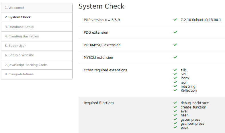 System Check 1