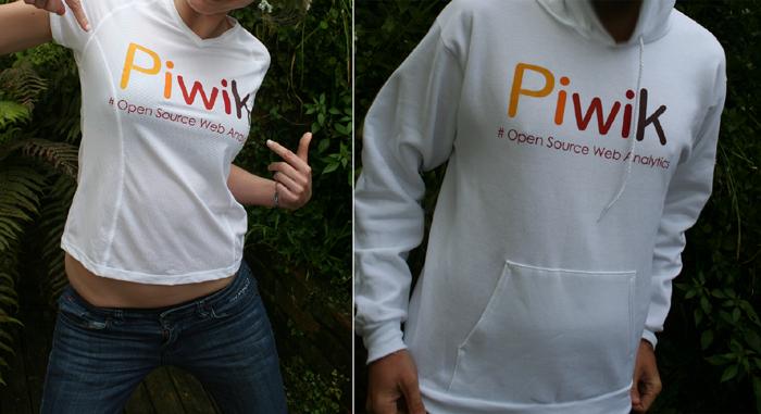 Custom T-Shirts for Piwik   Custom Sweatshirts