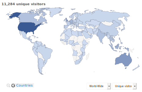 Visitors-Map-Worldwide-Plotting-Visits