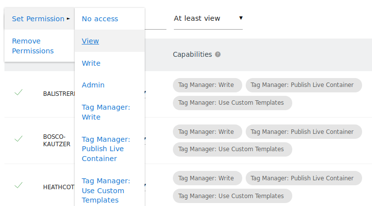 Setting Role for Multiple Websites At Once