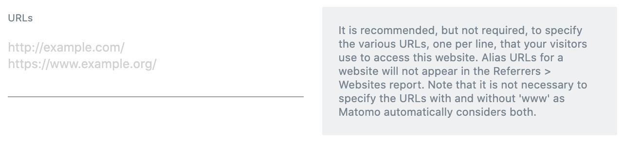 Matomo Measurable Details