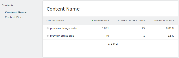 Matomo Analytics (formerly Piwik Analytics) tracking impressions Clicks Click-Rate on banners and any page elements