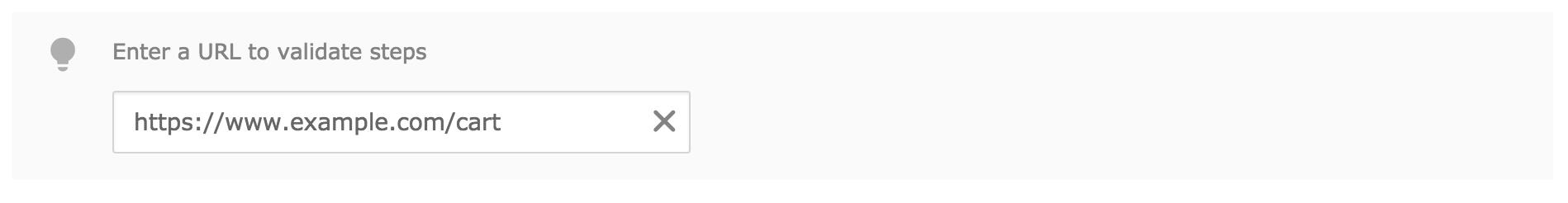Funnel URL validation