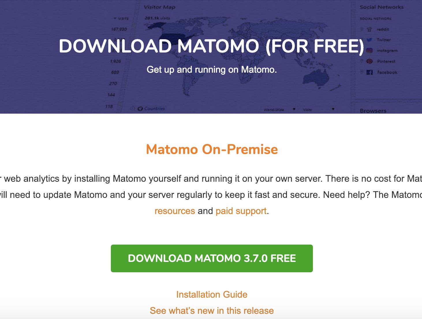 Download Matomo Free Web Analytics Tool - #1 Open Source