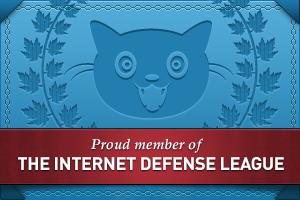 Member of internet defense league