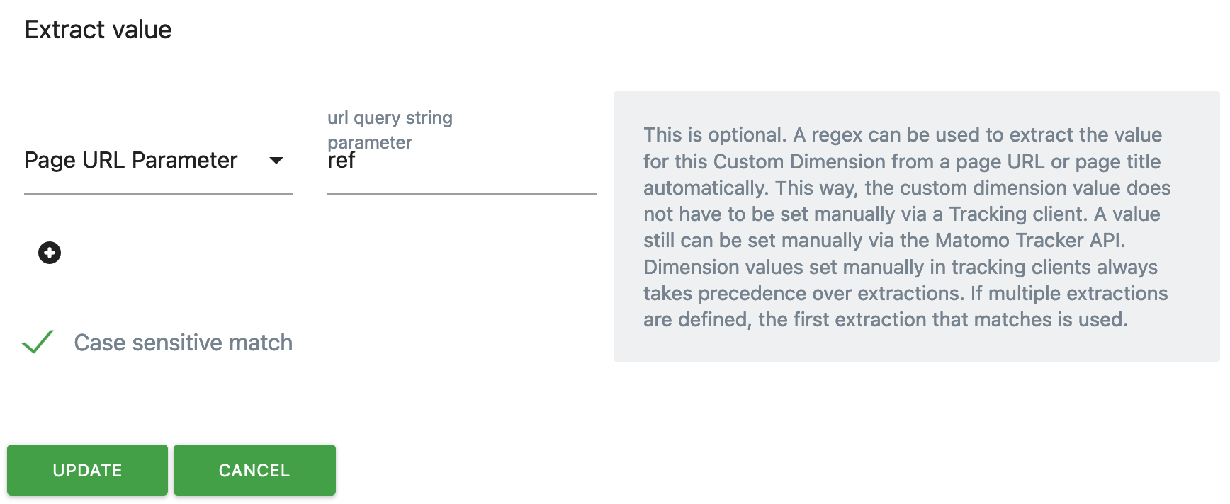 URL Parameter Extraction